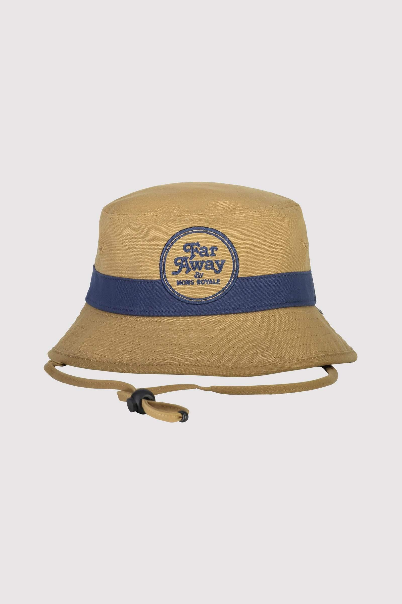 Beattie Bucket Hat - Dark Denim / Honey