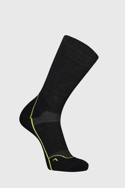"MTB 9"" Tech Sock - Black"