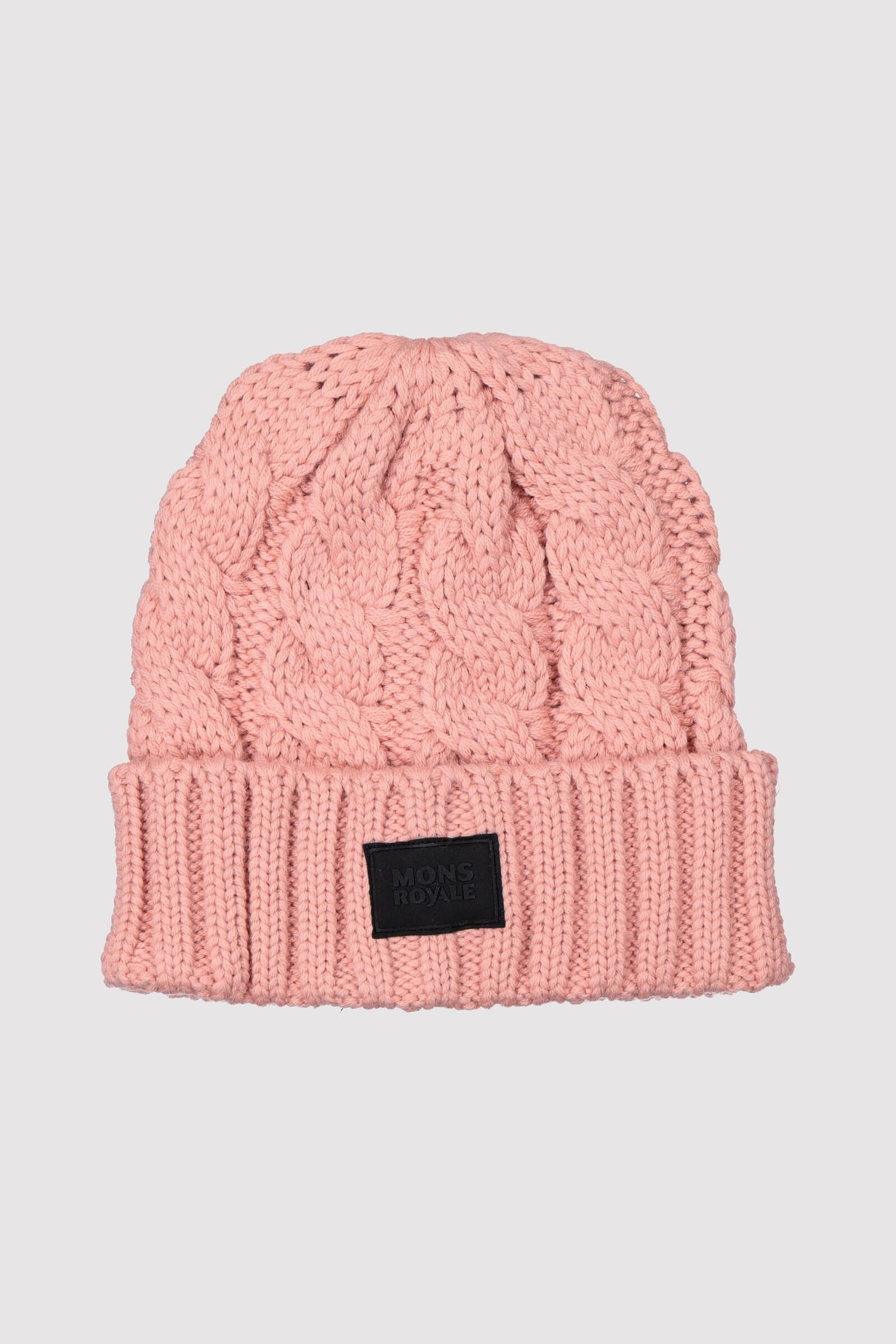 Rope Tow Beanie - Dusty Pink