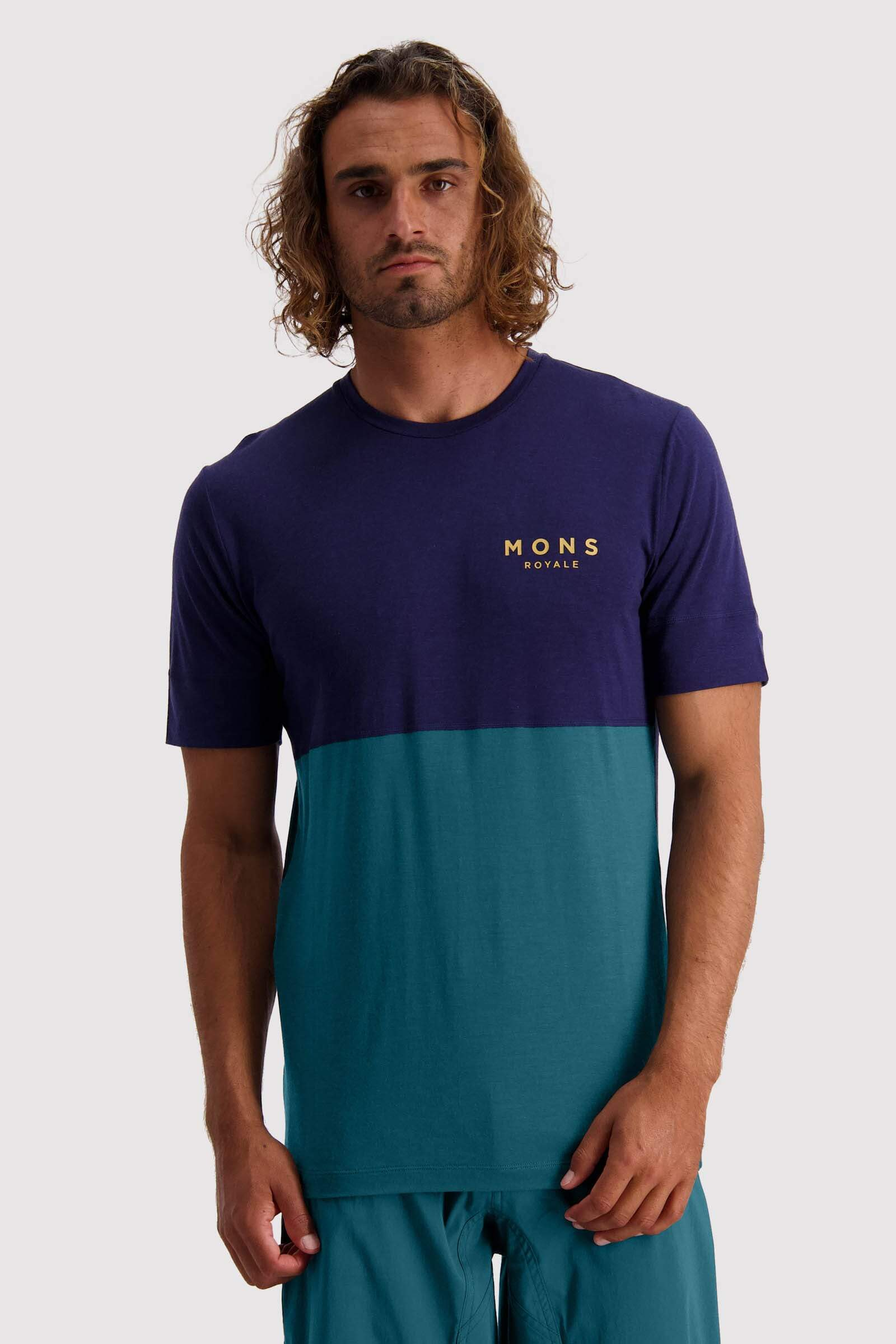 Cadence T - Deep Teal / Navy