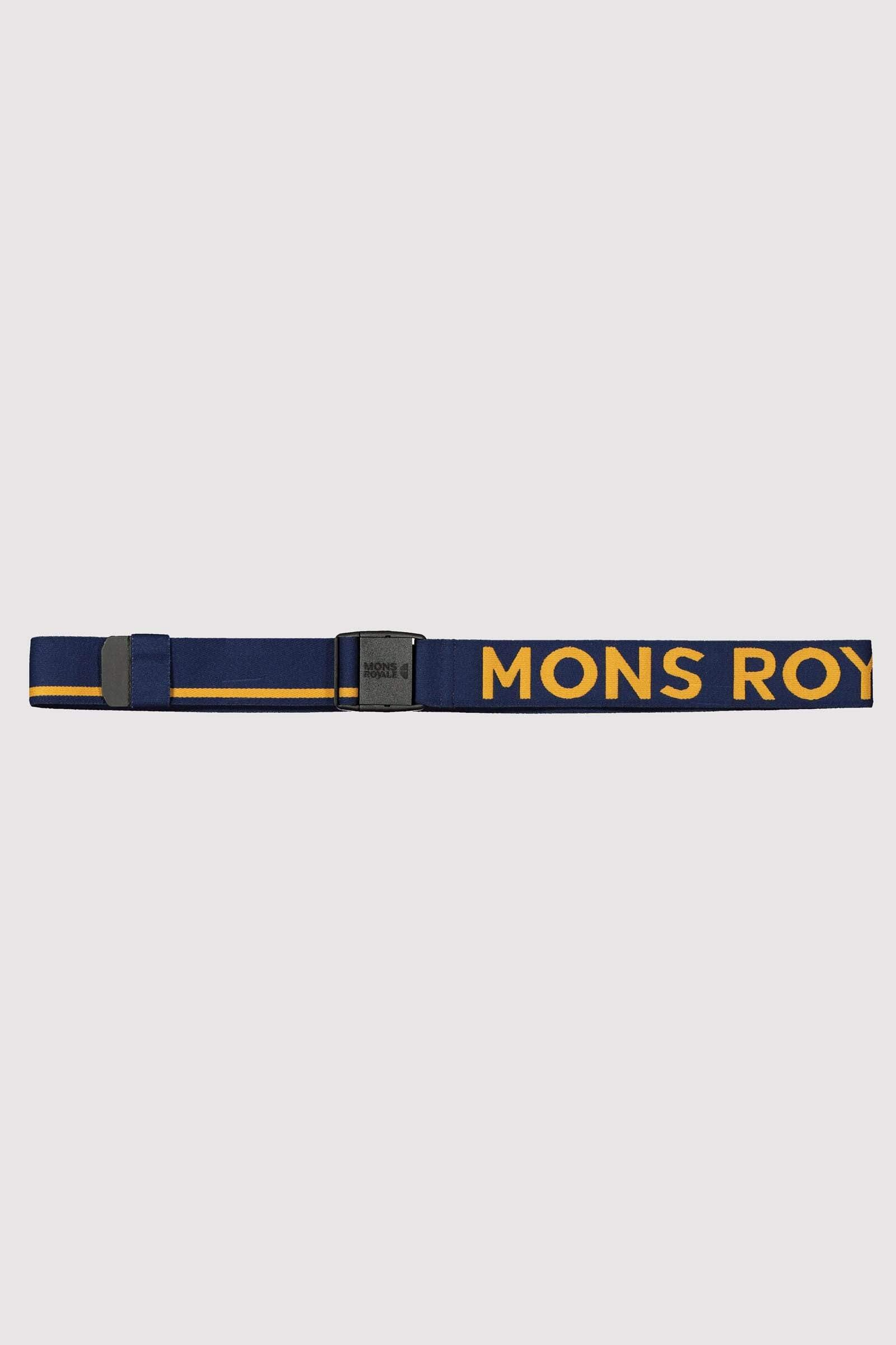 Mons Belt - Navy / Honey