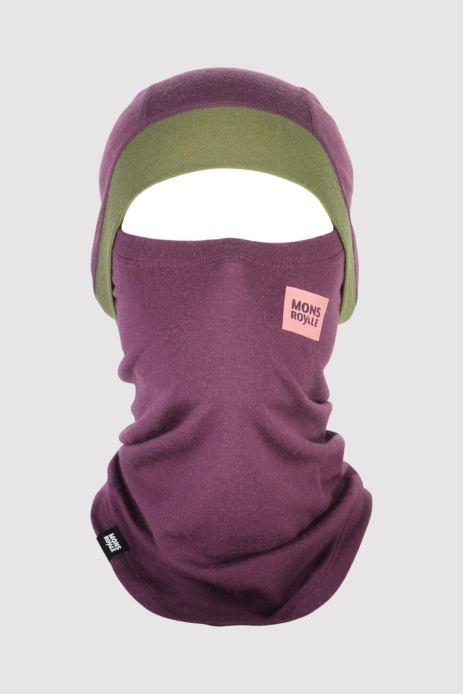 Olympus 250 Balaclava - Blackberry / Avocado