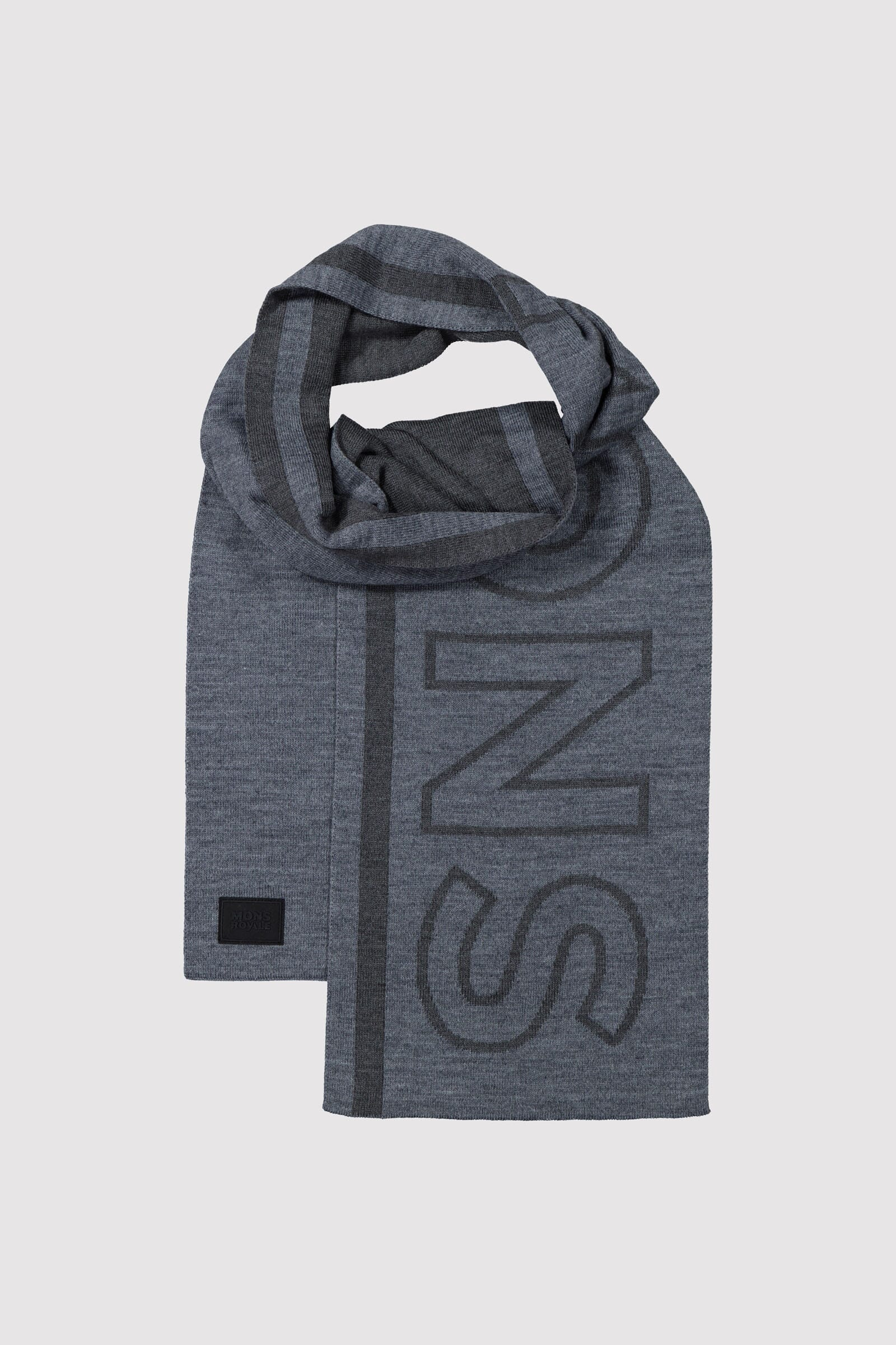 Team Scarf - Charcoal Marl