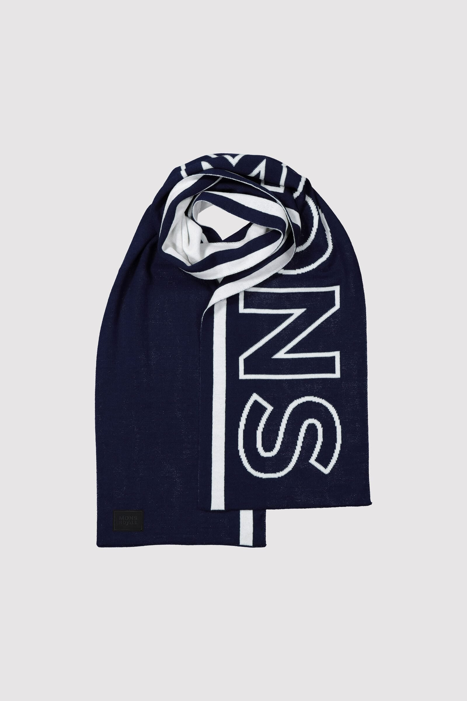 Team Scarf - Navy / White