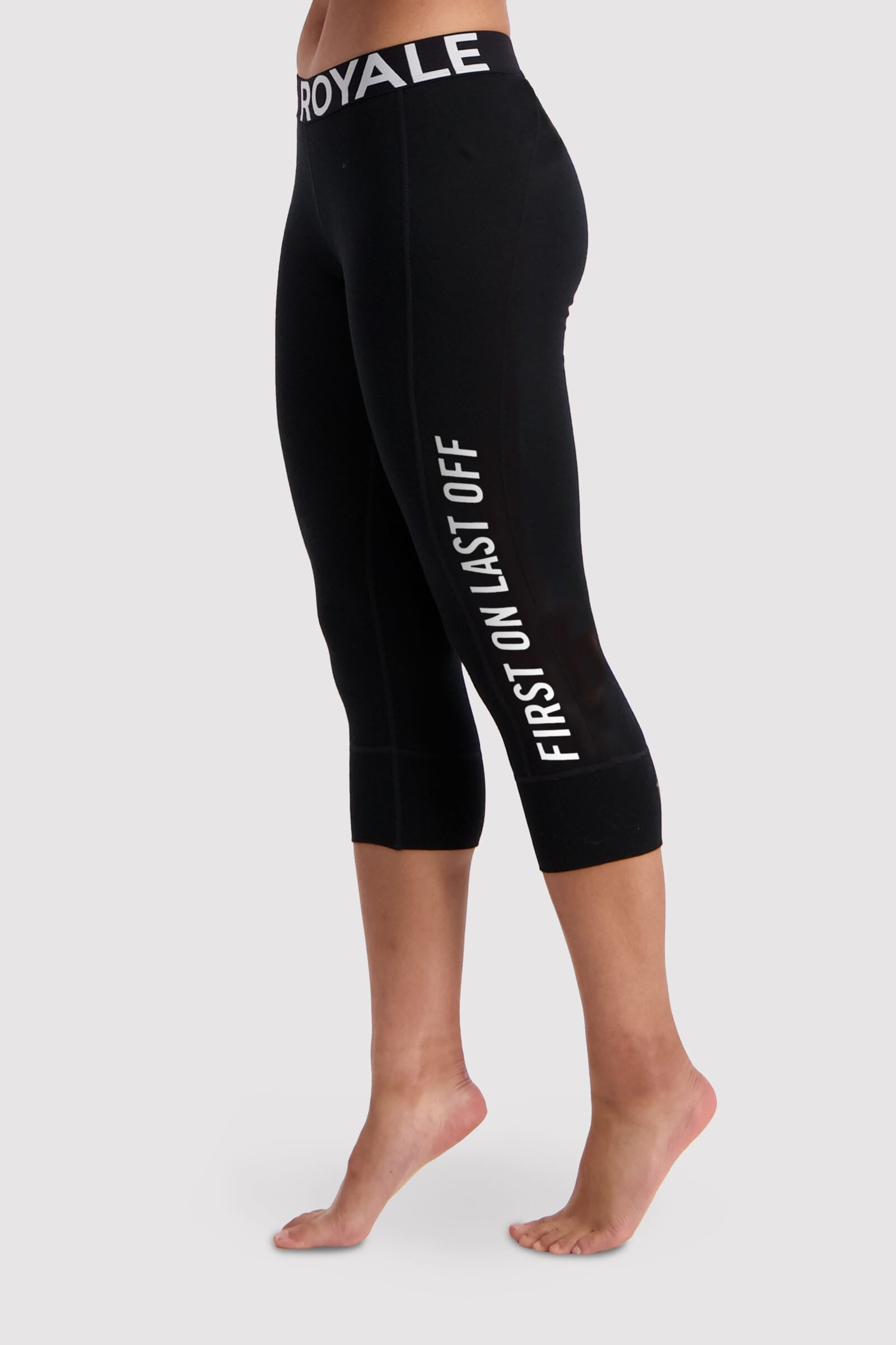 Christy 3/4 Legging - Black