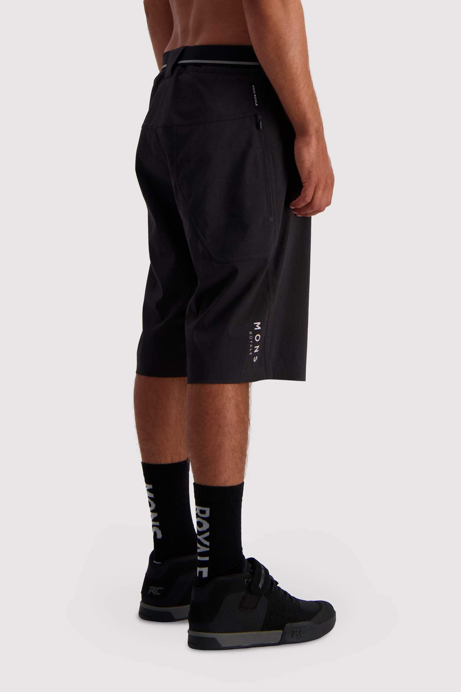 Virage Bike Shorts - Black