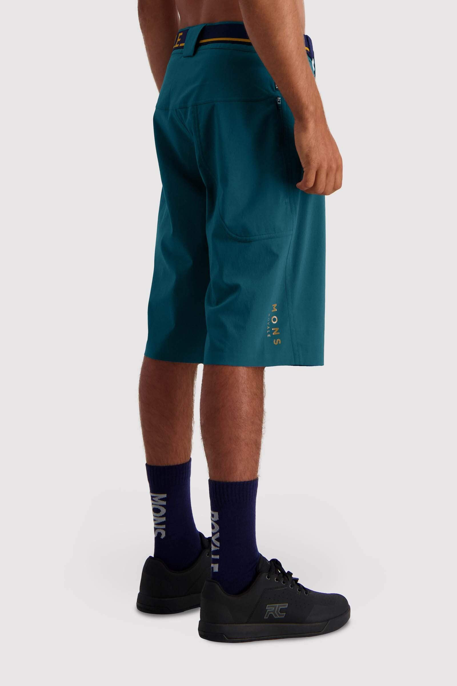 Virage Bike Shorts - Deep Teal