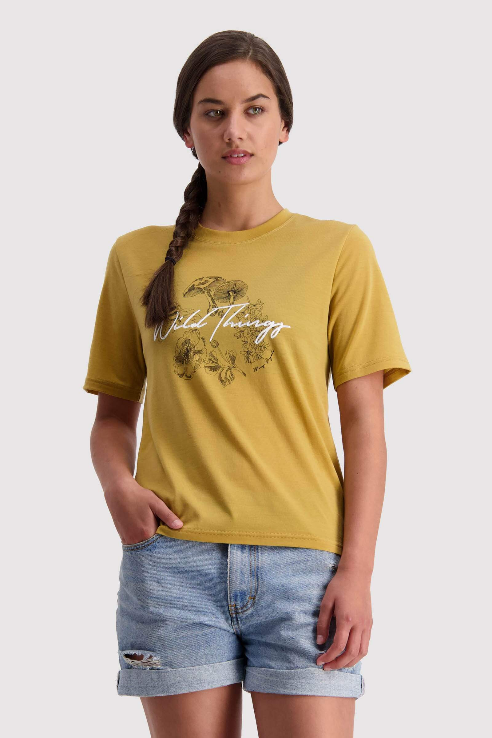 Icon Relaxed Tee - Honey