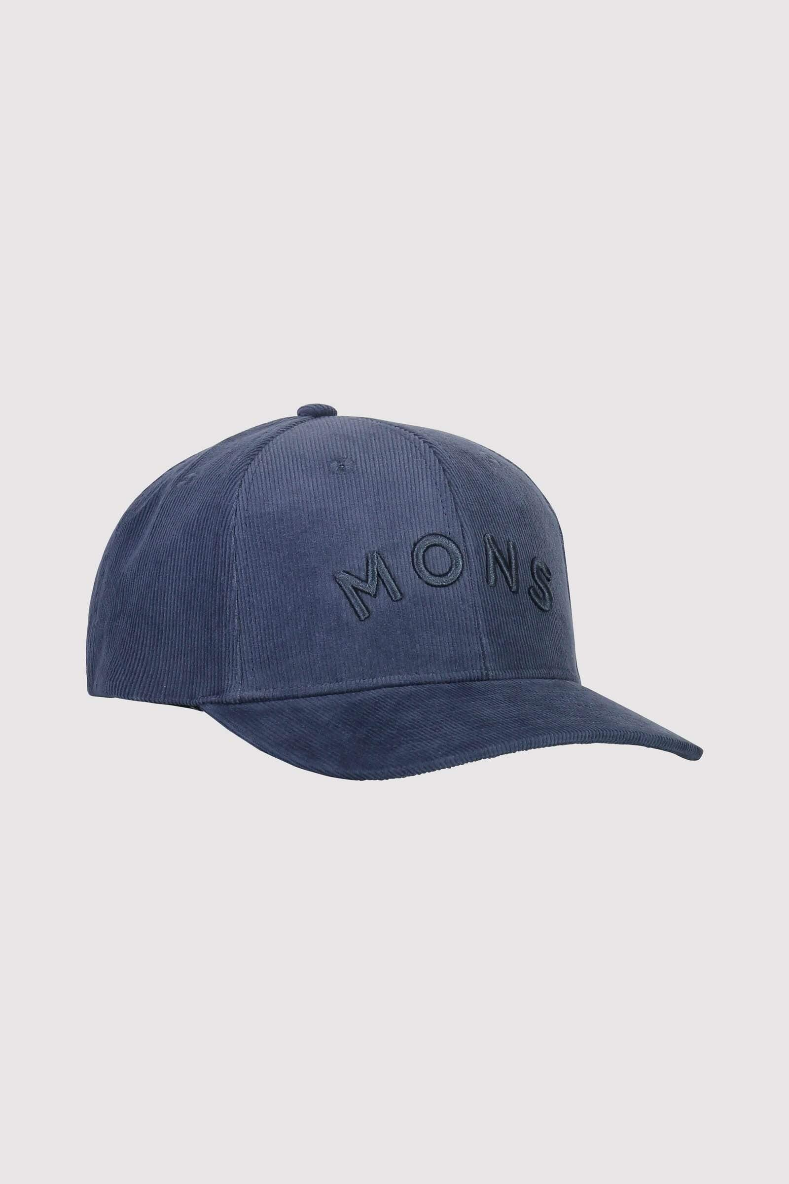 BF Corduroy Ball Cap - Dark Denim
