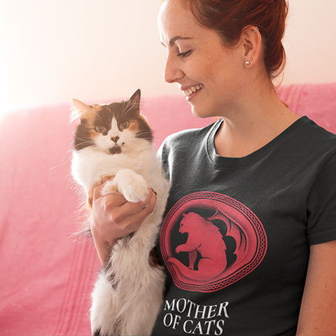 Mother of Cats Tee