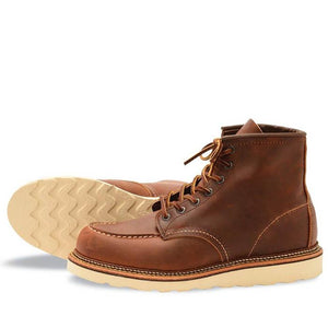 Red Wing Classic Moc 1907 Copper Rough & Tough - Gingers & Providence