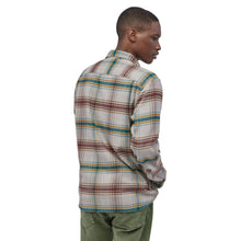 Load image into Gallery viewer, Long Sleeve Fjord Flannel Shirt - Defender: Feather Grey