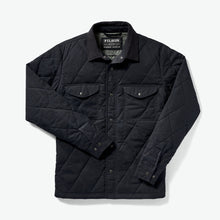 Load image into Gallery viewer, Hyder Quilted Jac-Shirt - Faded Navy