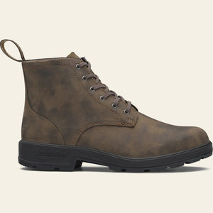 1930 Lace Up Boot - Rustic Brown