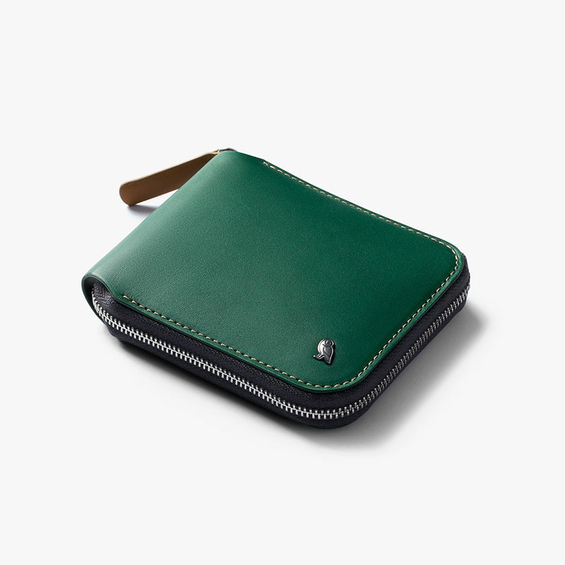 Zip Wallet - Racing Green