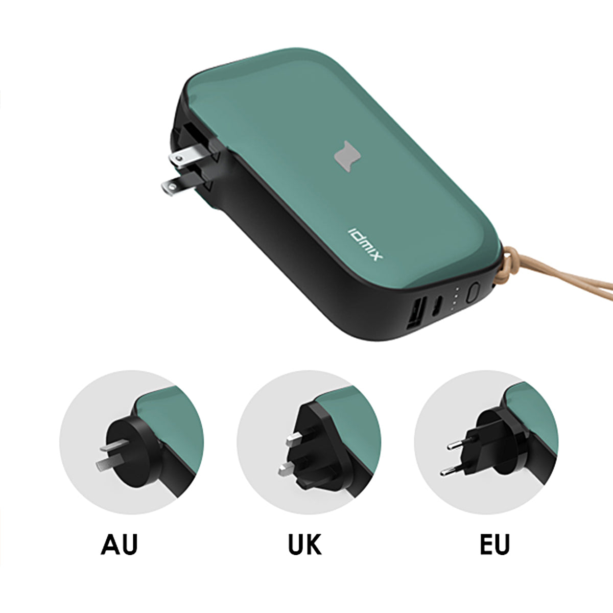 UK/EU/AU Plug Adapters - Mr. Charger 2.0
