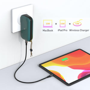 Mr. Charger 2.0: 4-in-1 Hybrid Charger