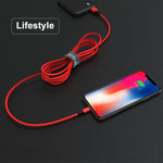 IDMIX USB C to Lightning Cable, PD Power Line Fast Charging Cord with MFI Certified Lightning Connector