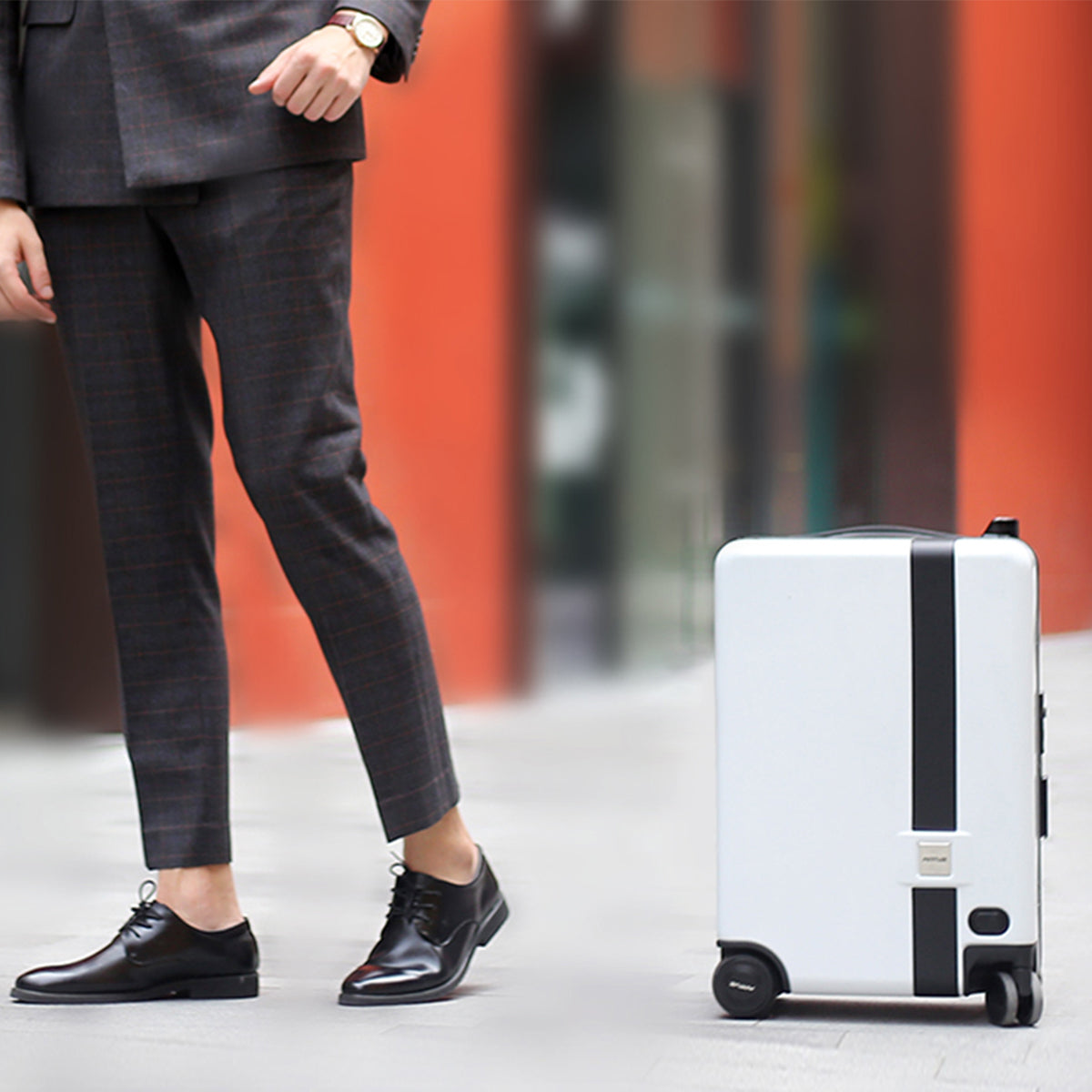 NAUCRATES: Ride-On and Self-Follow Smart Luggage