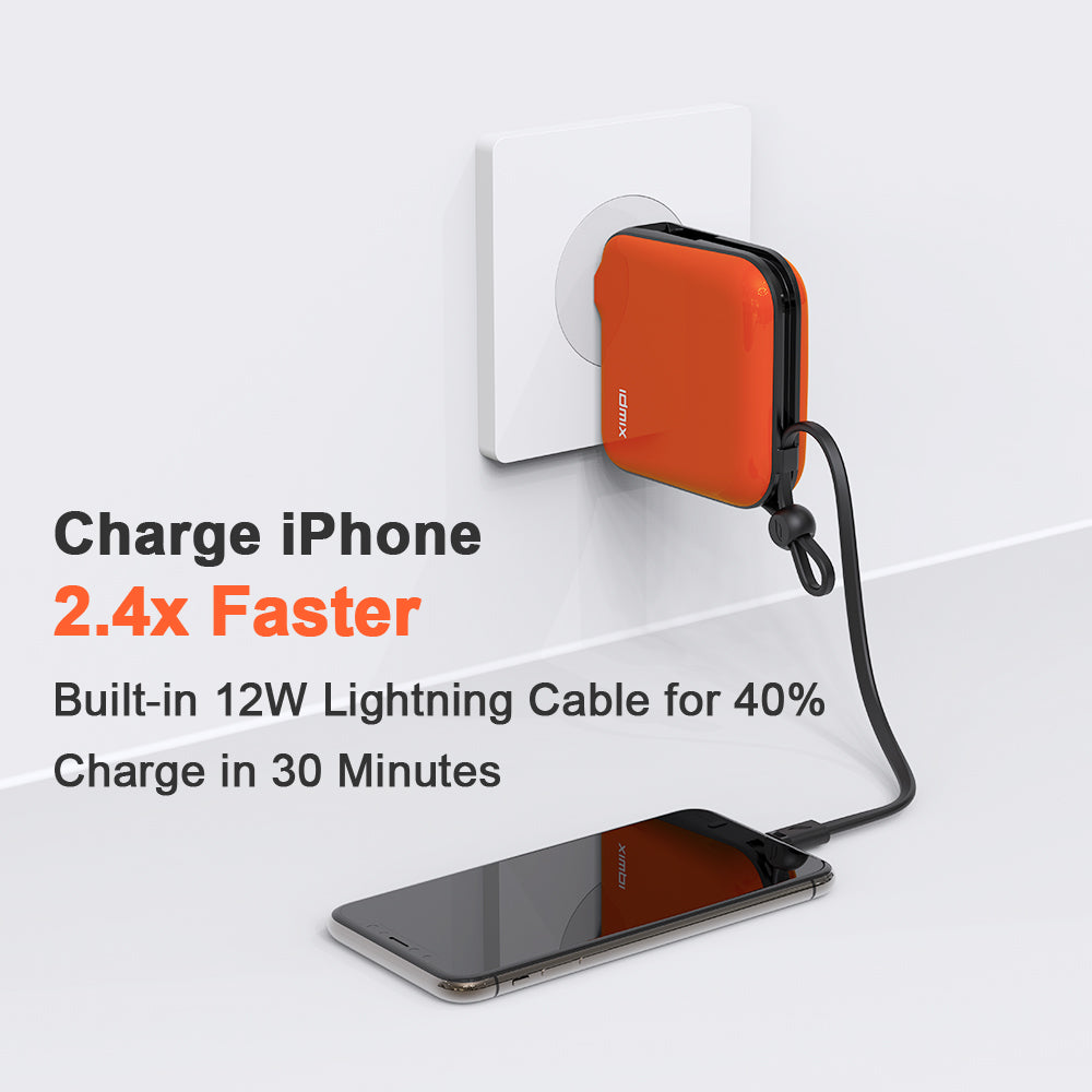 Mr Charger: PowerBank, Wall Charger, Cord, Adapter