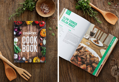 15 Copies of The Country Cookbook