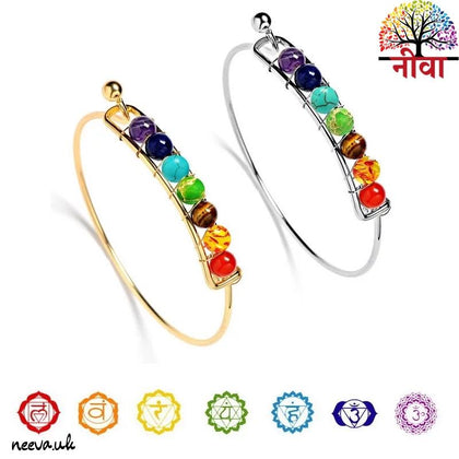 7 CHAKRA BANGLE - Neeva Holistic Care