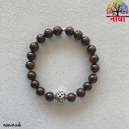 Neeva Holistic CareBLOOD RED GARNET - SILVERBracelet