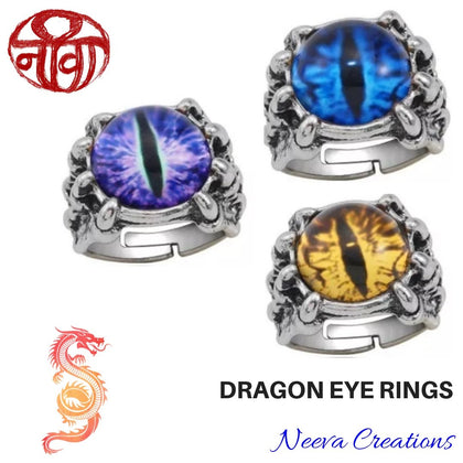 Dragon Eye - Finger Ring - Neeva Holistic Care