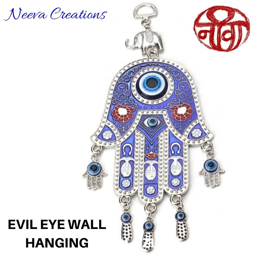 Evil Eye Hamsa Hand - Wall Hanging