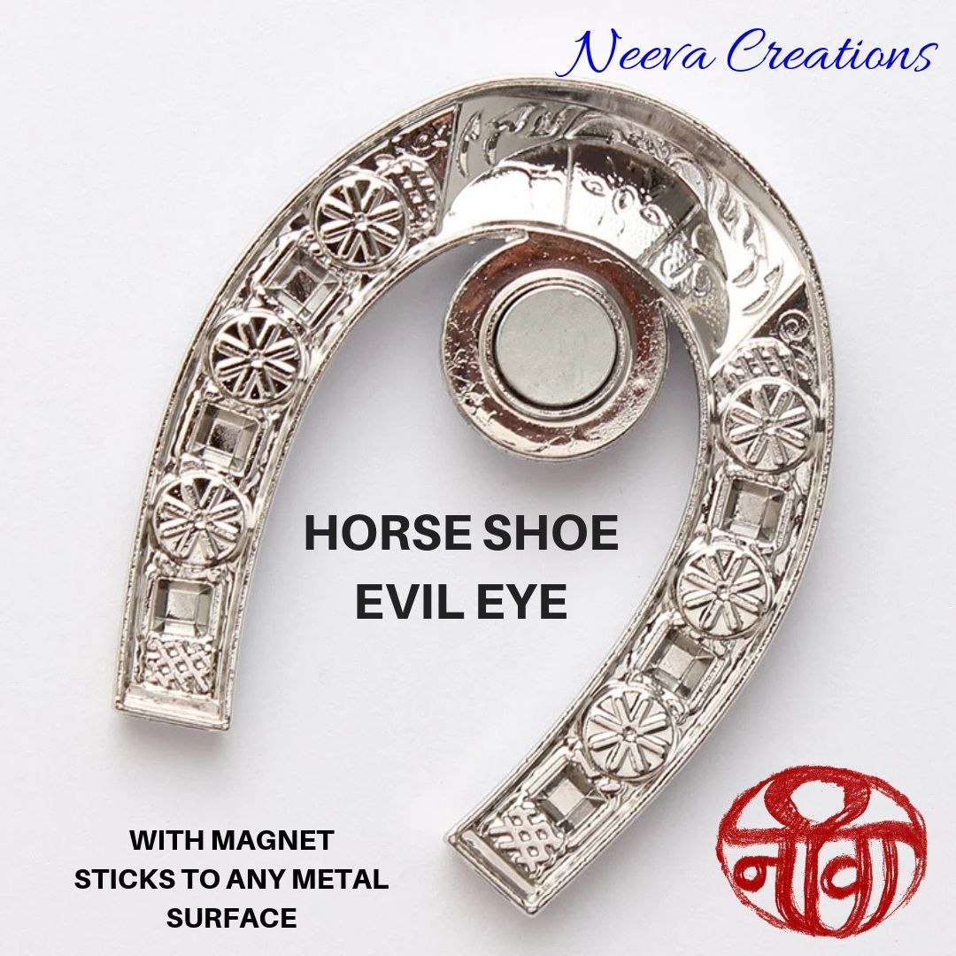 Evil Eye - Horse Shoe - Magnet