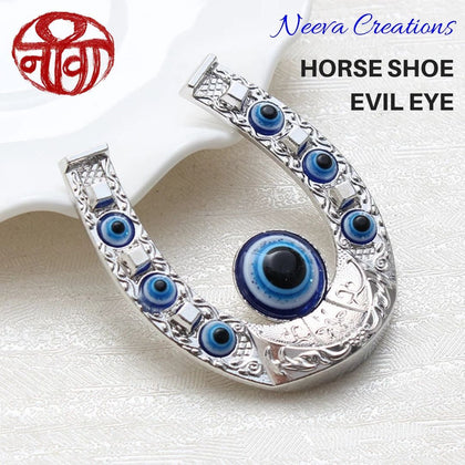 Evil Eye - Horse Shoe - Magnet - Neeva Holistic Care