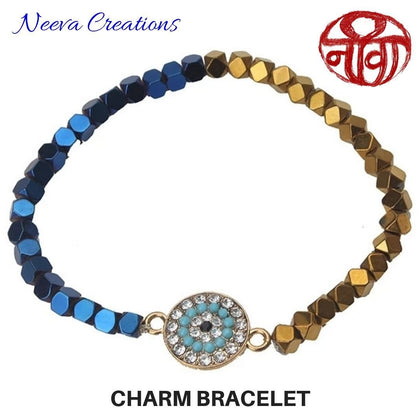 Medallion Charm Bracelet - Neeva Holistic Care