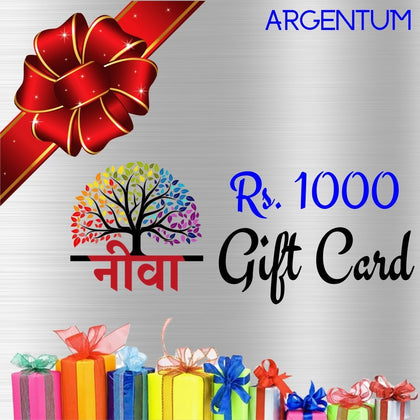 Neeva Gift Card Rs. 1000 - Neeva Holistic Care