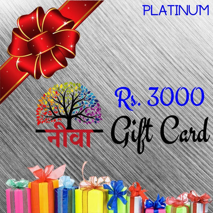 Neeva Gift Card Rs. 3000 - Neeva Holistic Care