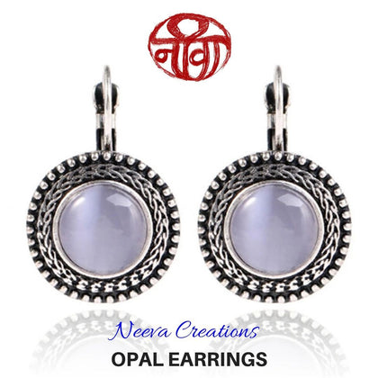 Opal Earring - Neeva Holistic Care
