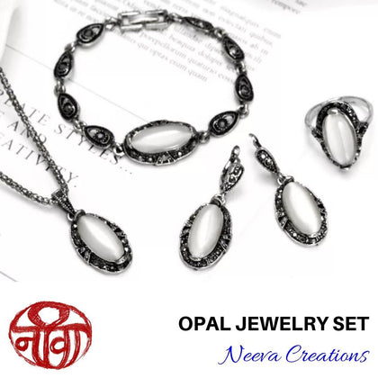 Opal Jewelry Set - Neeva Holistic Care
