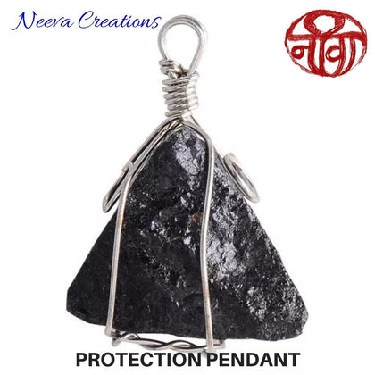 Raw Tourmaline - Protection Pendant - Neeva Holistic Care