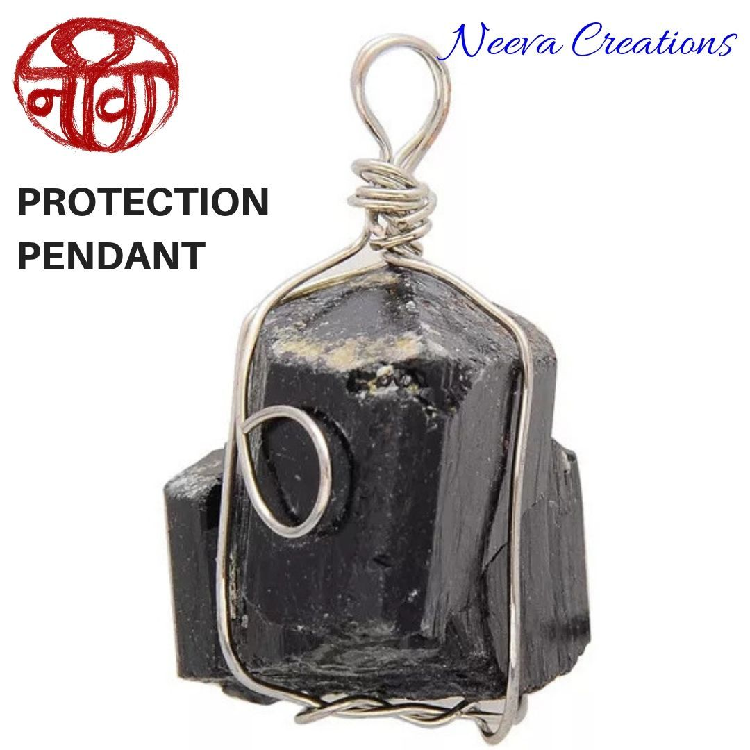 Raw Tourmaline - Protection Pendant