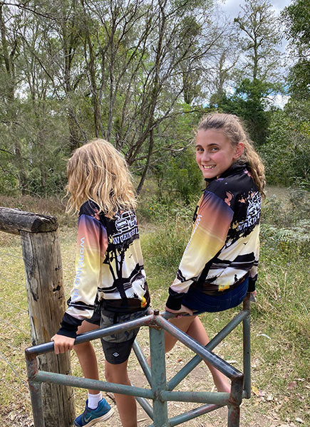 Kids Country Camping Jersey - Working Bull