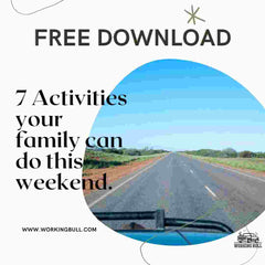 7 Activities your family can do this weekend.