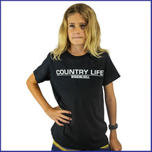 Load image into Gallery viewer, 'Country Life' T-Shirt Kids - Black