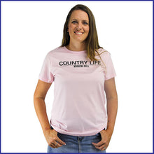 Load image into Gallery viewer, 'Country Life' Womens T-Shirt - Pink