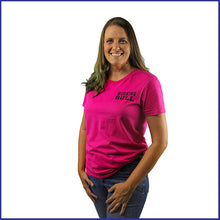 Load image into Gallery viewer, 'Heartland' Womens Tee - Fuchsia