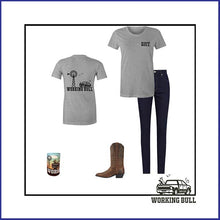 Load image into Gallery viewer, 'Heartland' Womens Tee - Grey