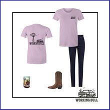 Load image into Gallery viewer, 'Heartland' Womens Tee - Lavender