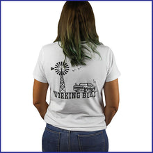 Load image into Gallery viewer, 'Heartland' Womens Tee - White