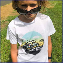 Load image into Gallery viewer, 'Ollie' Kids Tee - White