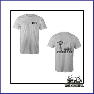 'Outback' Mens Tee - Grey