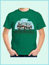 Load image into Gallery viewer, Working Bull Kids Tee - Green