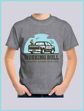 Load image into Gallery viewer, Working Bull Kids Tee - Grey
